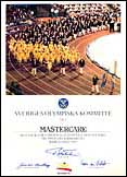 Mastercare Back-A-Traction at the Olympic Games in Barcelona 1992